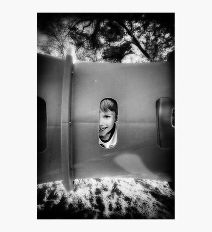 Tube Boy Photographic Print