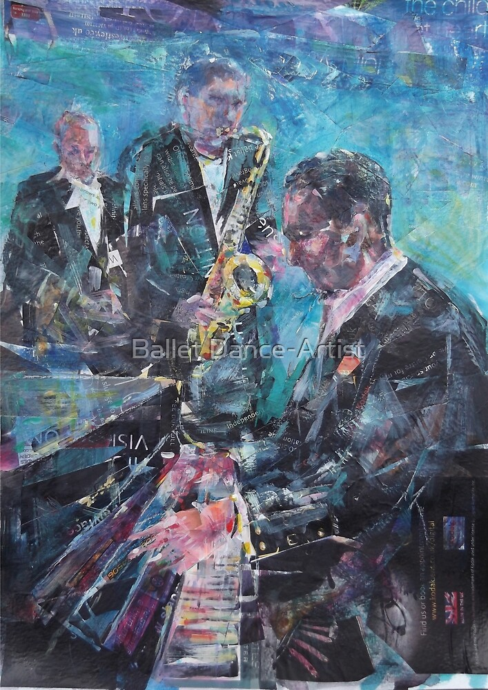 Jazz Music by Ballet Dance-Artist