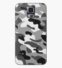 Tarnung Grau Hülle & Skin für Samsung Galaxy