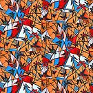 Butterflies Nest by Ming  Myaskovsky