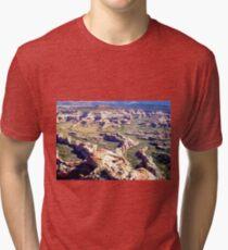 aerial of Canyonlands, Utah 3 Tri-blend T-Shirt