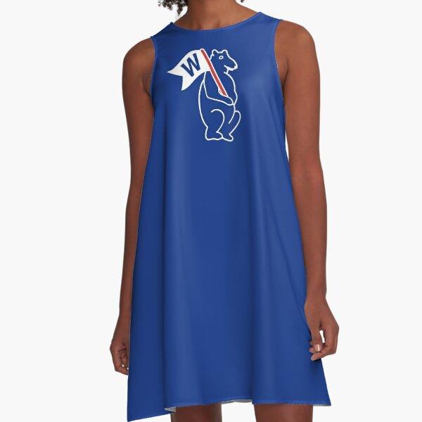 Cub W - Blue A-Line Dress