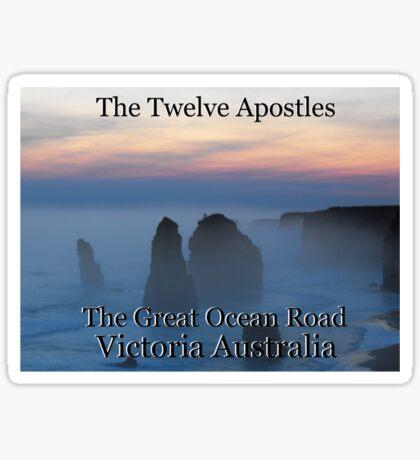 The Twelve Apostles Sticker