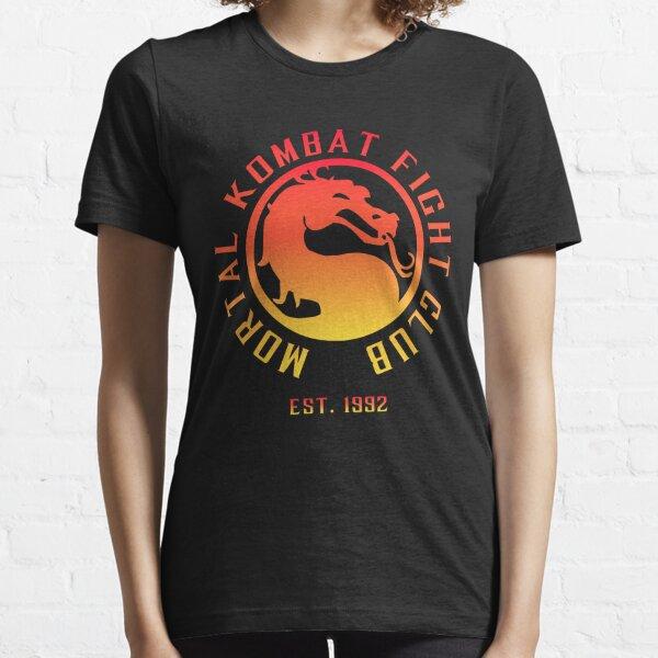 Mortal Kombat Fight Club | Mortal Kombat 11 | Clean Color Logo Essential T-Shirt