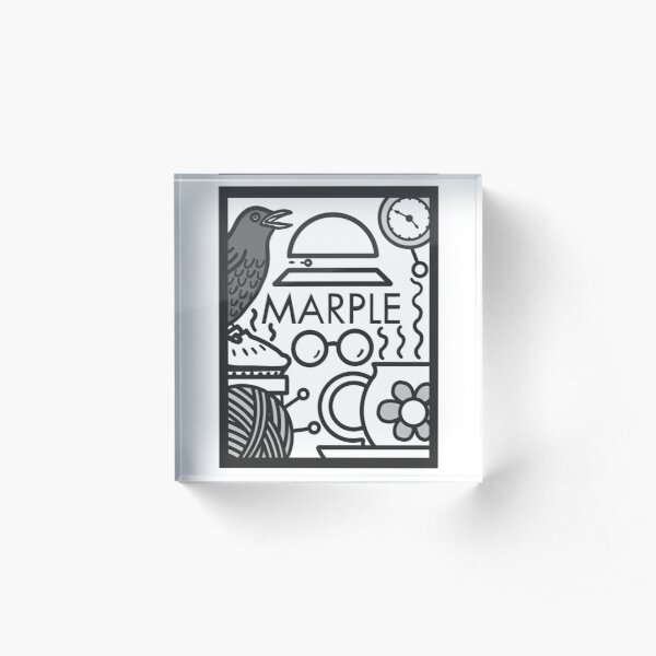 Marple Acrylic Block