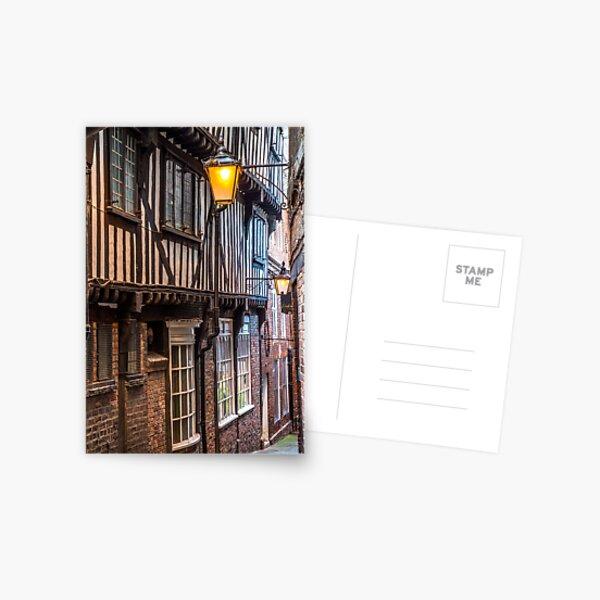 Lady Peckett's Yard, York Postcard