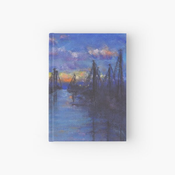 Oceanside Sunset (Pastel) Hardcover Journal