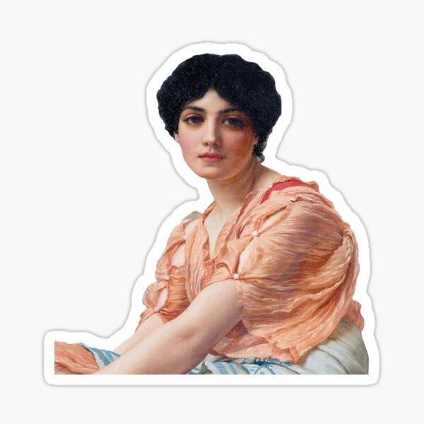 Sappho Sticker