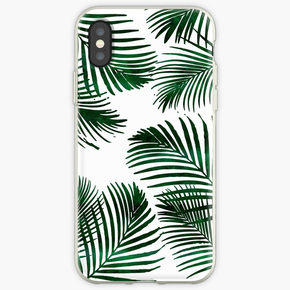 Tropical Palm Leaf iPhone Case & Cover