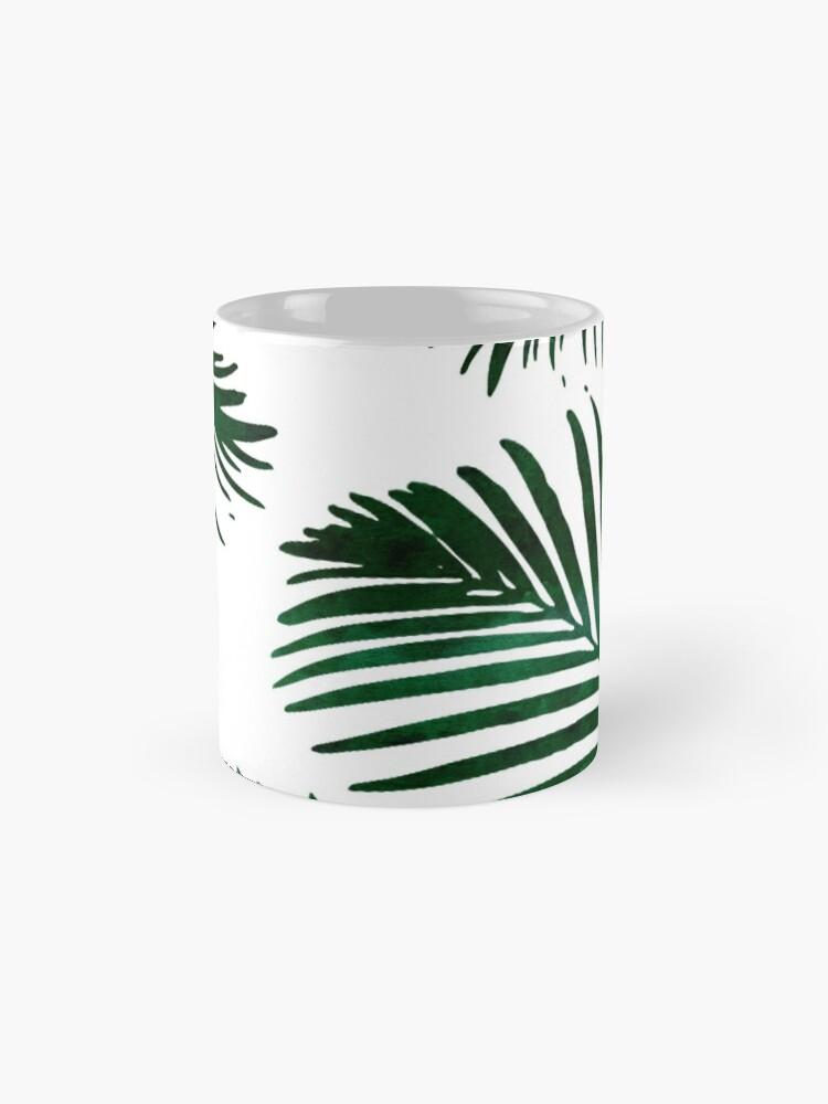 Alternate view of Tropical Palm Leaf Mug
