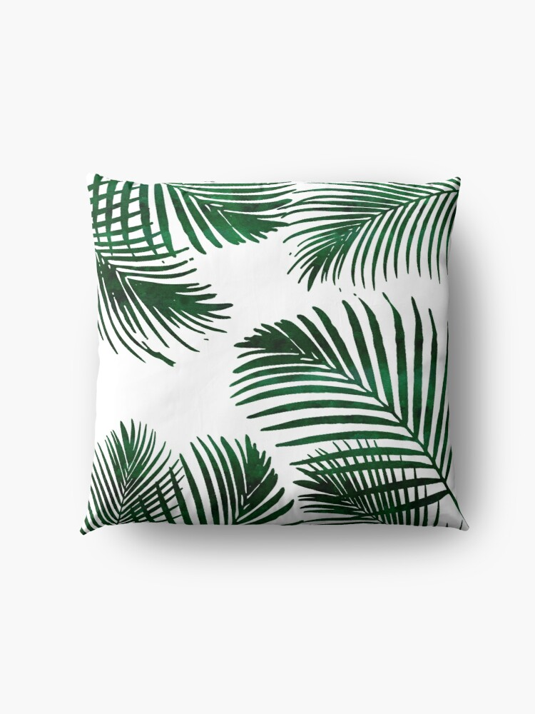 Alternate view of Tropical Palm Leaf Floor Pillow