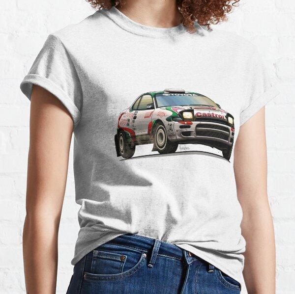 Toyota Celica ST185 Castrol WRC T-shirt classique