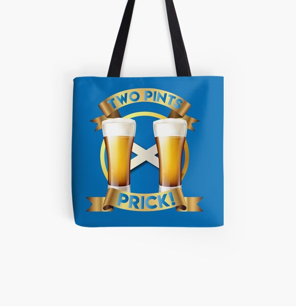 TWO PINTS -STILL GAME All Over Print Tote Bag