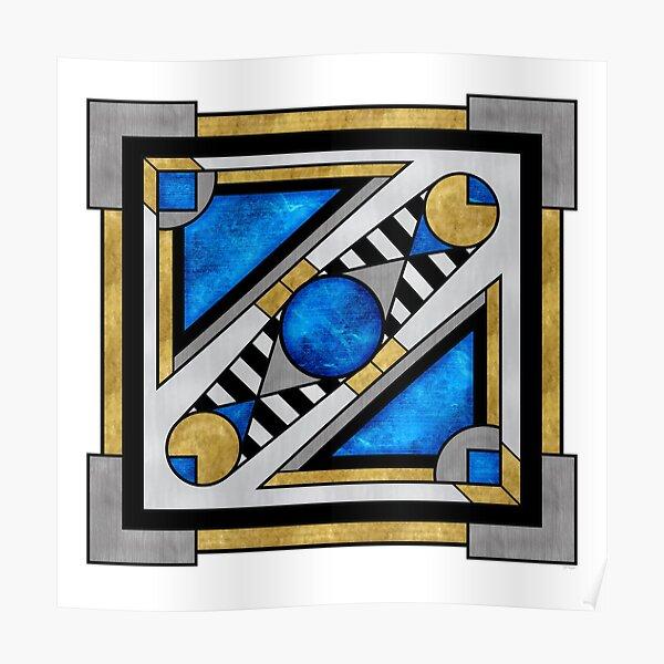 Boxball - Art Deco Design Poster