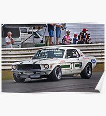 Pete Geoghegan 67 Ford Mustang GTA Poster