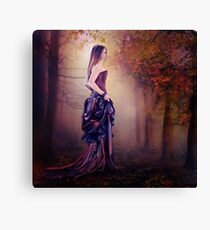 Listening the silence Canvas Print