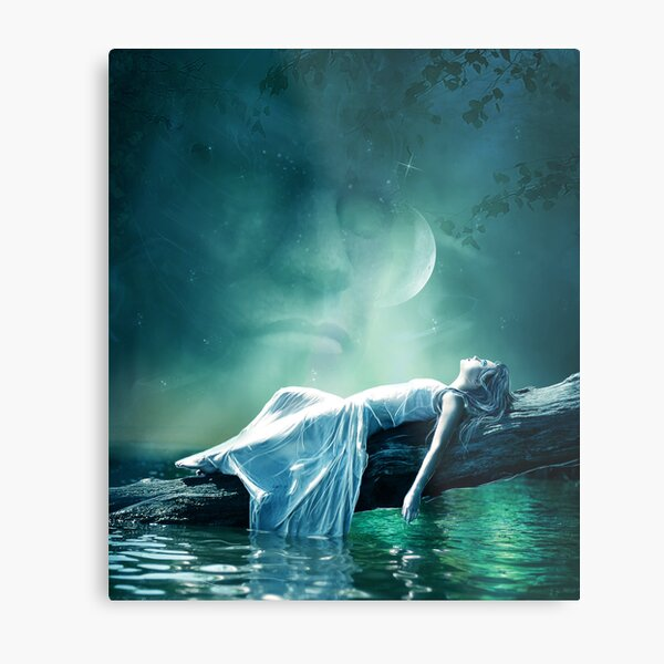 Dreams and fantasy : the Evening star Metal Print