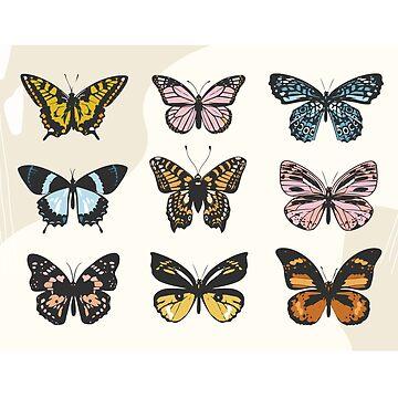 Butterfly Sticker Pack by aterkaderk