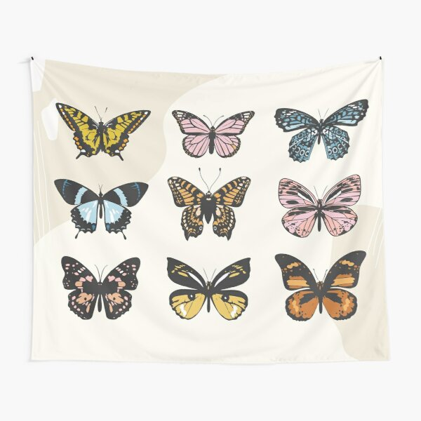 Butterfly Sticker Pack Tapestry