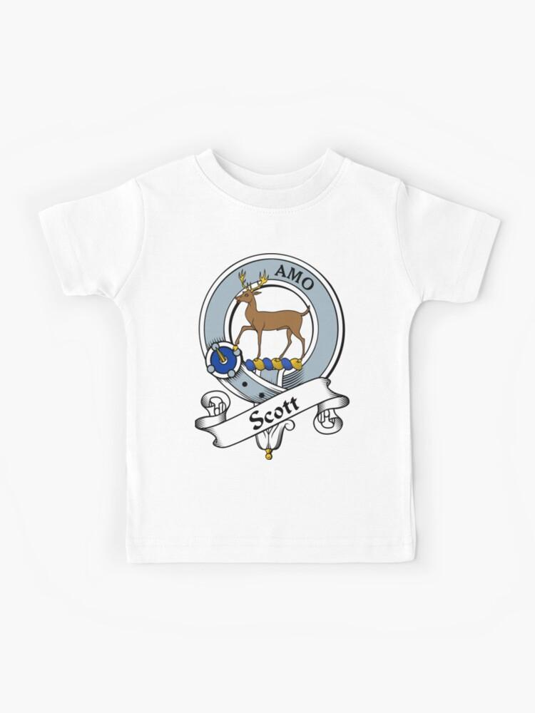 Scott Clan T-Shirt Scottish Heritage Clothing Scotland Cotton Tee