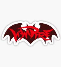Vampire - Bat Logo (Darkstalkers) Sticker