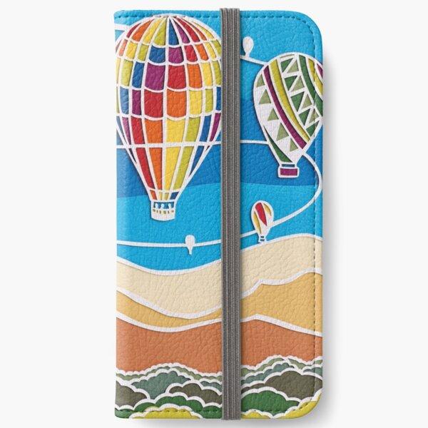 Basking Hot Air Balloons iPhone Wallet
