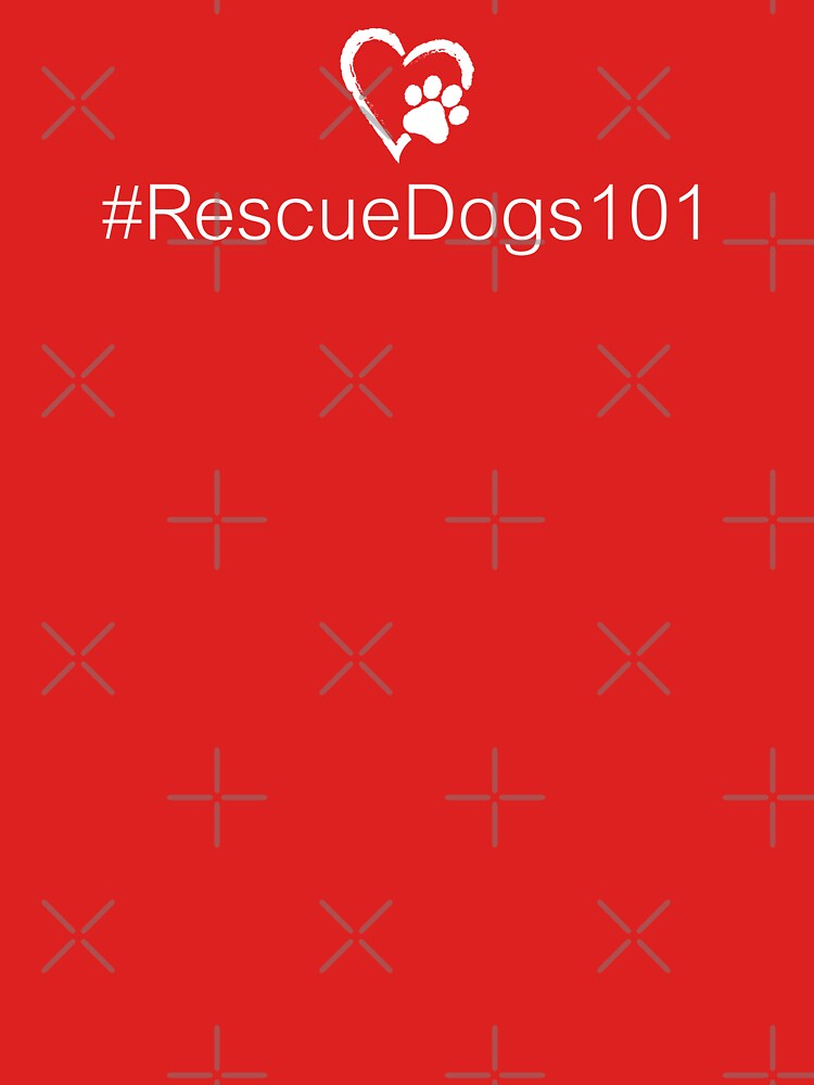 Hashtag #RescueDogs101 • Paw Print Heart by rescuedogs101