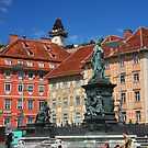 Summer day in Graz, Austria by christopher363