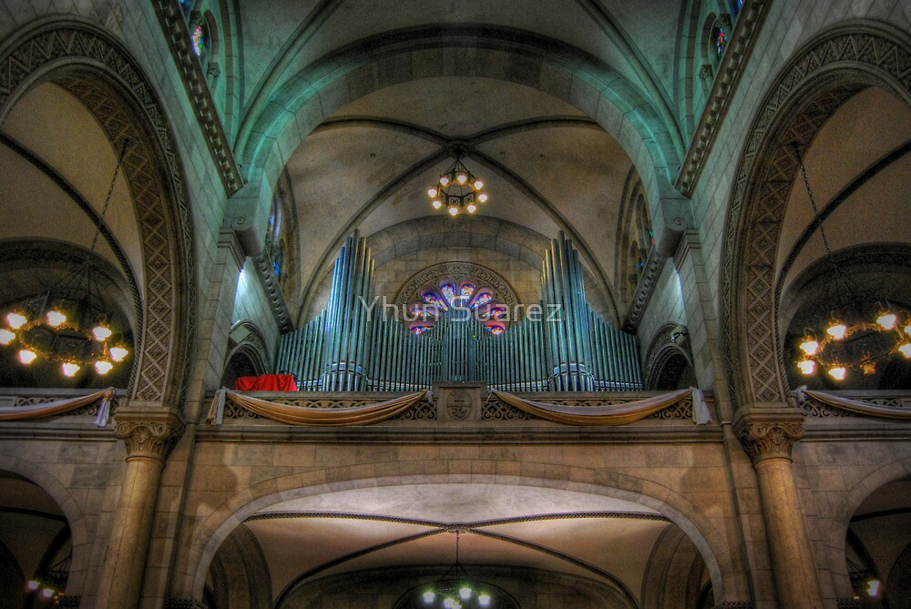 Manila Cathedral Pipes by Yhun Suarez