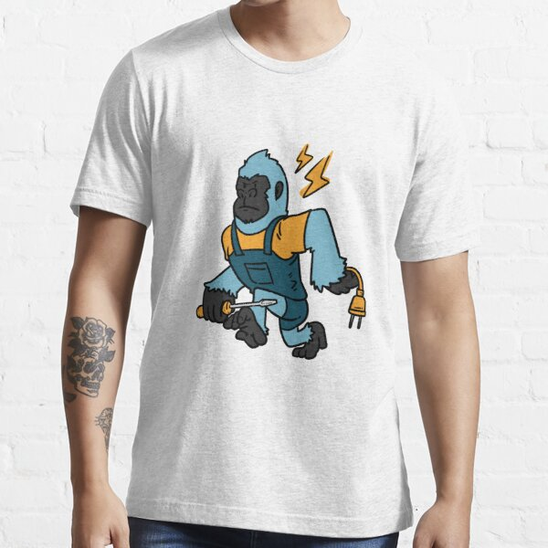 Electrician chimpanzee Essential T-Shirt
