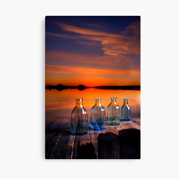 In the morning at 4.33 Canvas Print