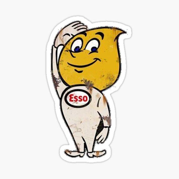Esso Gas Sticker