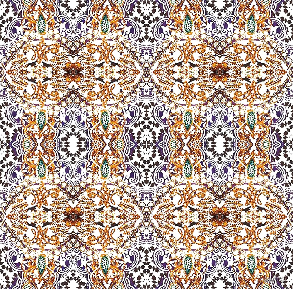 pattern, decoration, art, abstract, mosaic, ornate, rug, craft, design, tile, textile, textured, styles, geometric shape, retro style, seamless pattern, square, diy by znamenski