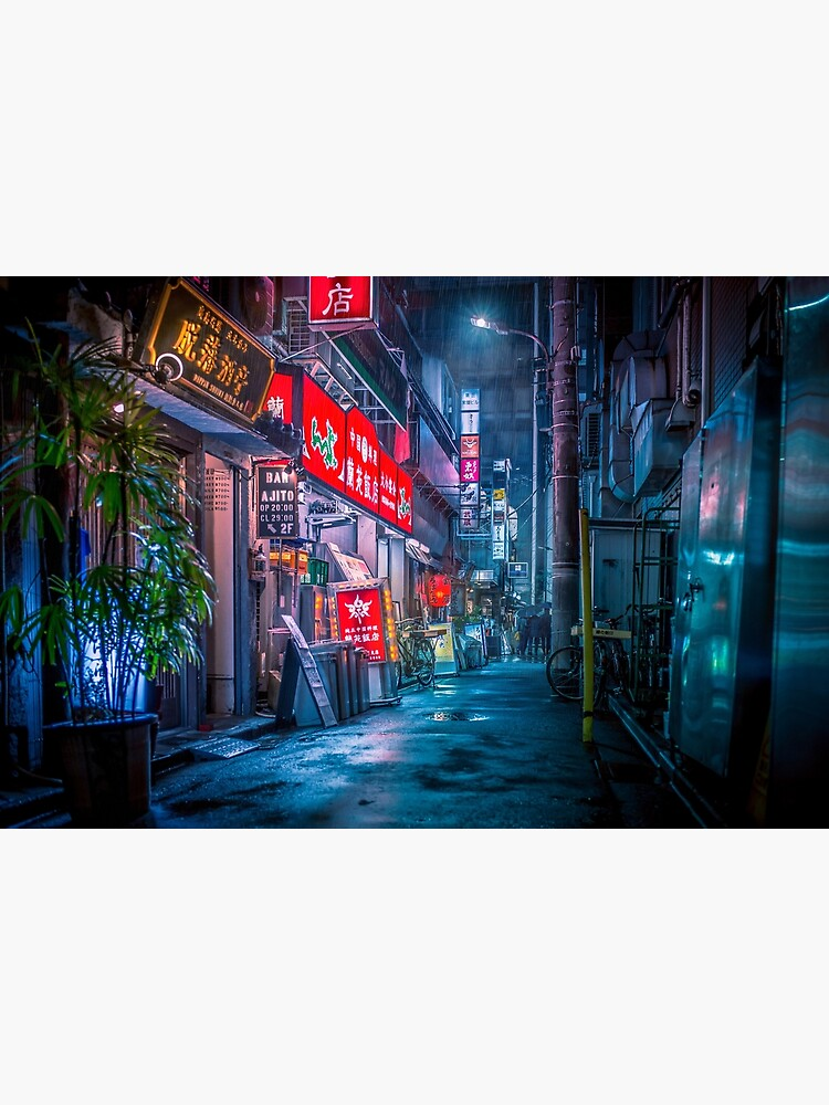Heavy Rain Over Neo Tokyo by TokyoLuv