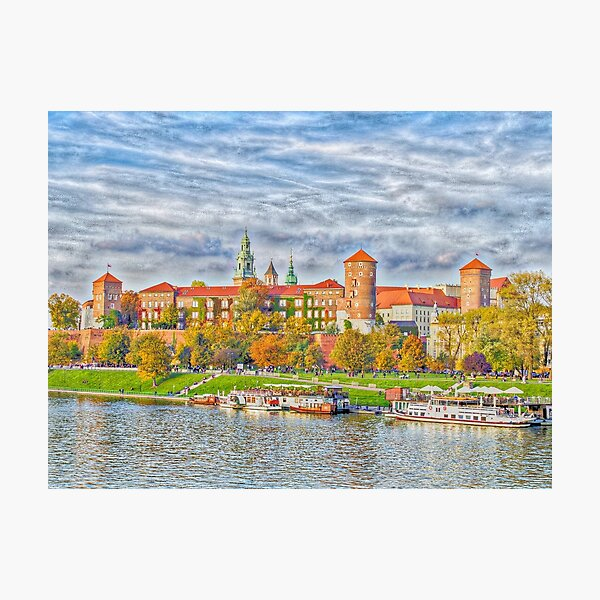 Cracow Wawel Photographic Print
