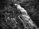 Ganoga Falls, top section by Aaron Campbell