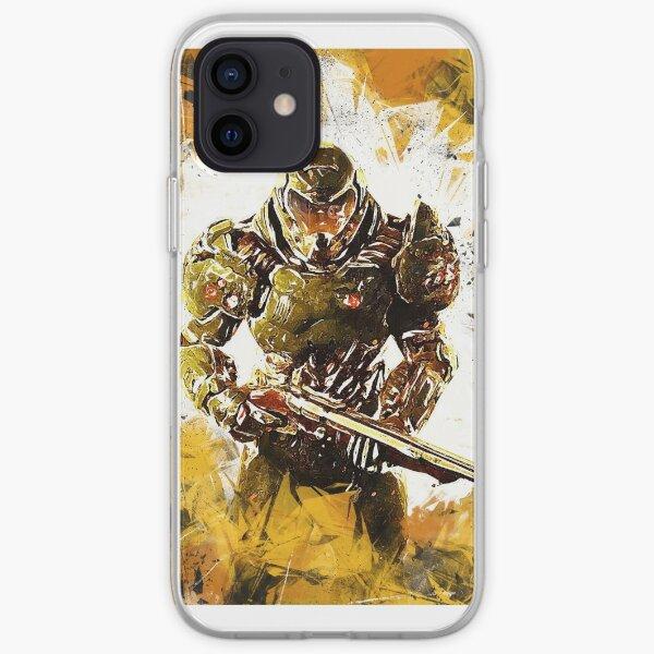 Doom - Doomguy - Fight Through Hell iPhone Soft Case