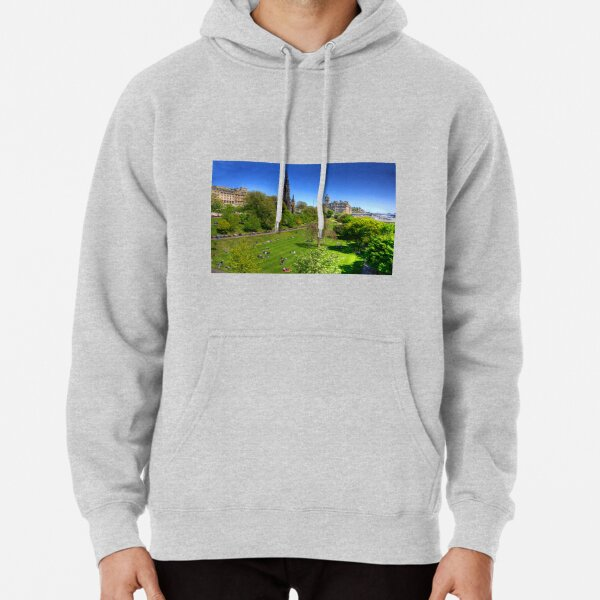 Spring day in the park Pullover Hoodie