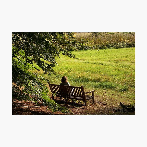 A quiet moment in solitude...  Photographic Print
