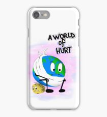 The Earth and the Moon iPhone Case/Skin