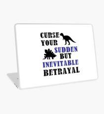 Curse Your Sudden But Inevitable Betrayal Laptop Skin