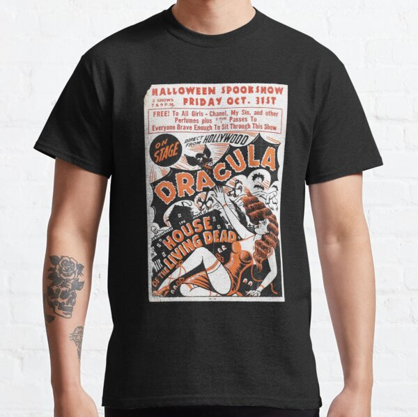 Halloween Spookshow - Dracula, Living Dead Classic T-Shirt