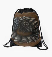 Girdled Armadillo Lizard Drawstring Bag