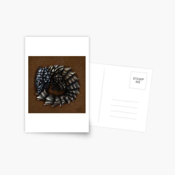 Girdled Armadillo Lizard Postcard