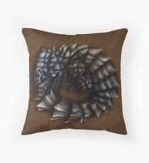 Girdled Armadillo Lizard Throw Pillow