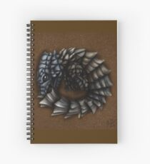 Girdled Armadillo Lizard Spiral Notebook