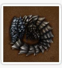 Girdled Armadillo Lizard Sticker