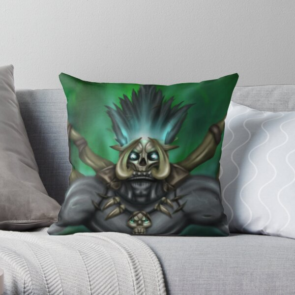 Bwonsamdi Throw Pillow