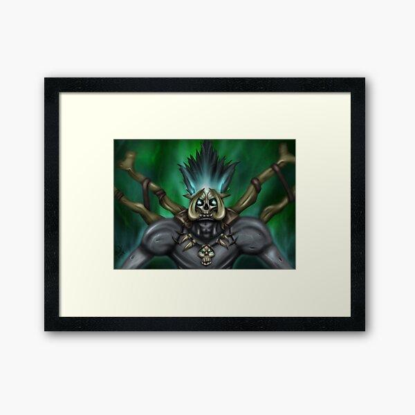 Bwonsamdi Framed Art Print