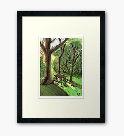 Picnic Framed Print